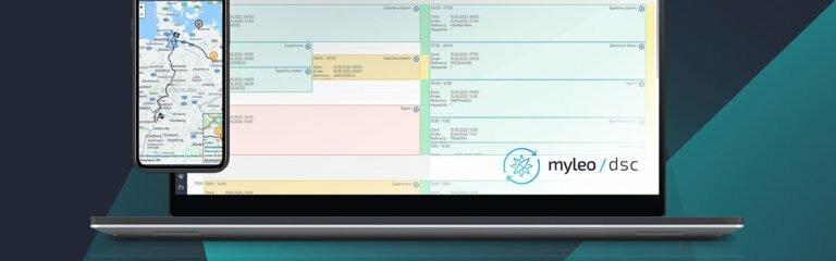 Software Ansicht myleo / slot
